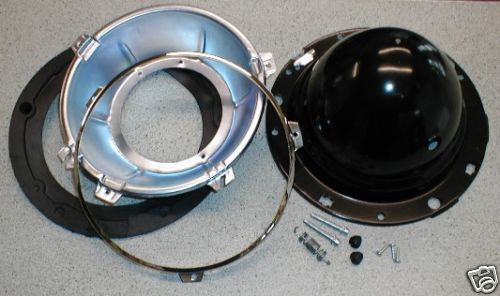 Headlamp Shell Backbowl Rim Seal Kit 7 Inch