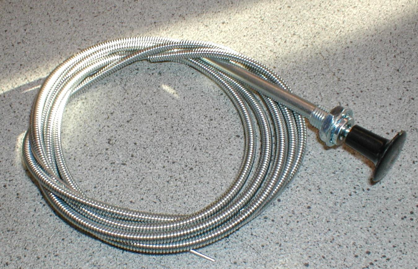 Choke Cable Kit : Universal solid wire choke cable kit classic cars